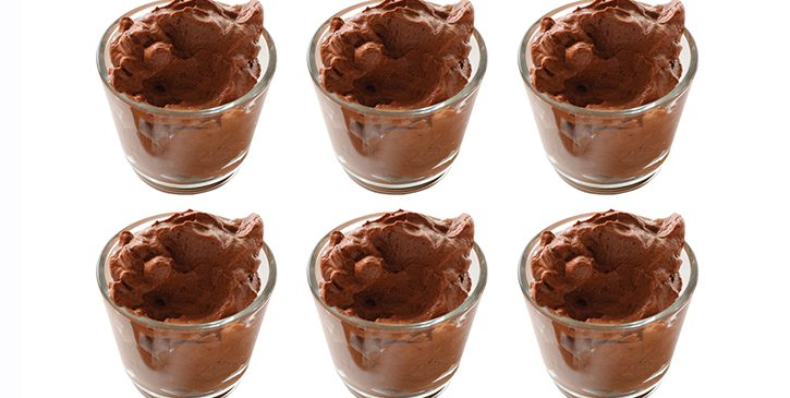 5 ingredient Low Carb Chocolate Mousse